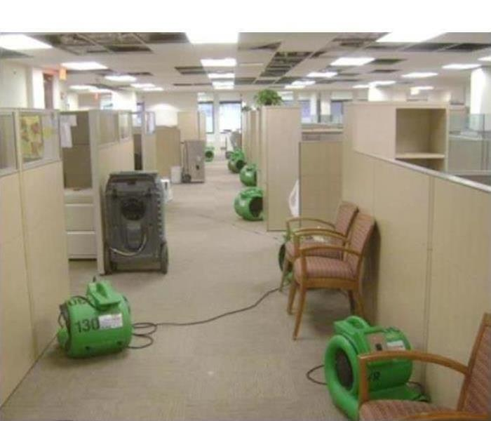 Commercial Water Damage – Hickory Offices After