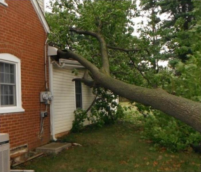 Storm Damage – Hickory Home Before