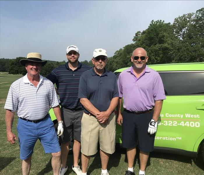 Why SERVPRO Why SERVPRO of Catawba County West Loves Golf Tournaments