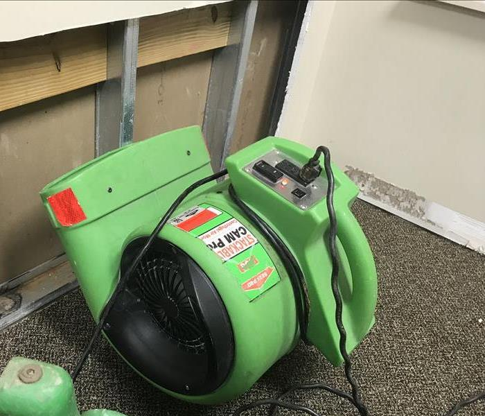 Water Damage Water Damage Q&A: Can I Turn Off the Air Movers?